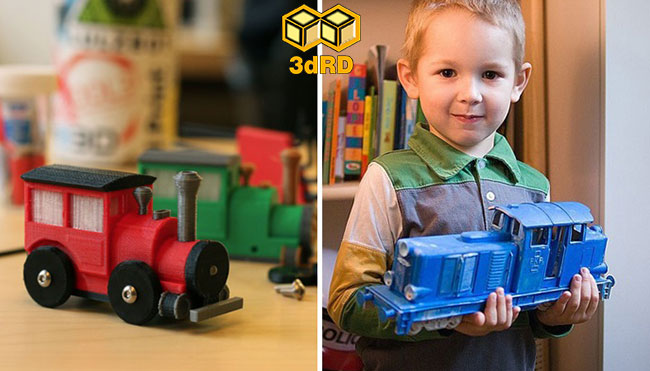 ایده ساخت اسباب بازی با پرینتر سه بعدی 5