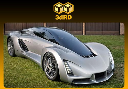 خودروی سه بعدی BLADE