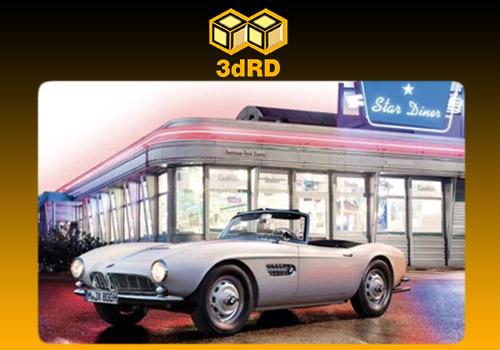 خودروی سه بعدی BMW 507