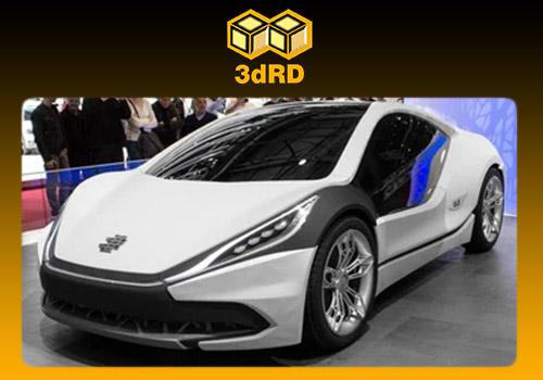 خودروی سه بعدی EDAG