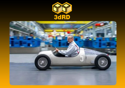 ماکت خودروی سه بعدی AUDI