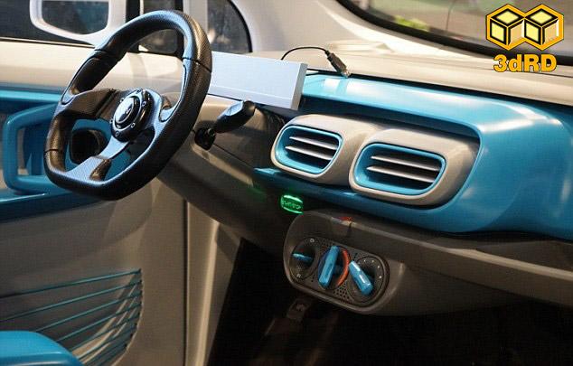پرینتر سه بعدی در صنعت خودرو سازی
