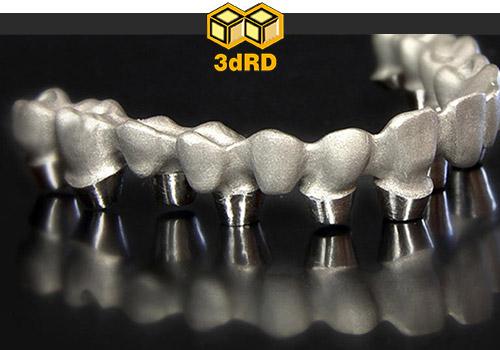 چاپ سه بعدی در دندان پزشکی