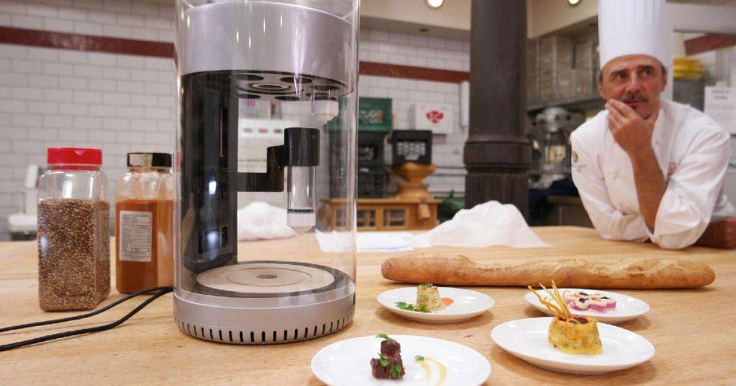 ساخت رستوران با پرینتر های سه بعدی