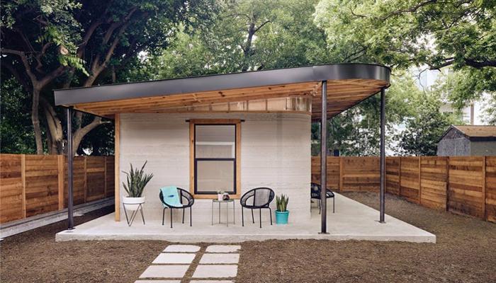 پرینتر سه بعدی خانه ساز ICON