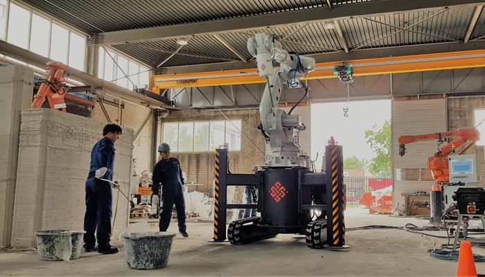 چاپگر سه بعدی خانه ساز Cybe Construction